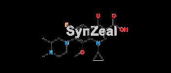 Picture of Gatifloxacin N-Methyl Impurity
