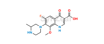 Picture of Gatifloxacin Impurity 2