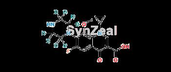 Picture of 3-Desmethyl Gatifloxacin D8