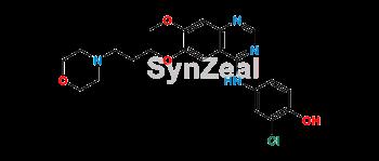 Picture of 4-Defluoro-4-Hydroxy Gefitinib