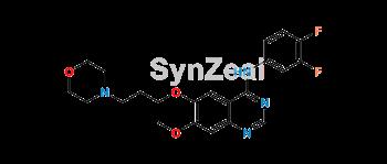 Picture of 3-Deschloro-3,4-difluoro Gefitinib