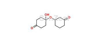 Picture of 4-hydroxy-4-((3-oxocyclohexyl)oxy)cyclohexan-1-one
