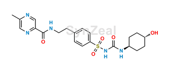 Picture of 4-trans-Hydroxyglipizide