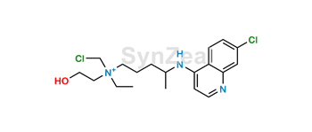 Picture of N-Chloromethyl Hydroxychloroquine