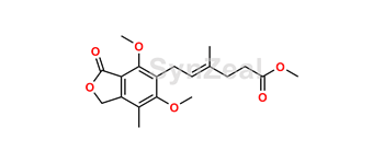 Picture of Mycophenolic Acid O-Methyl Methyl Ester
