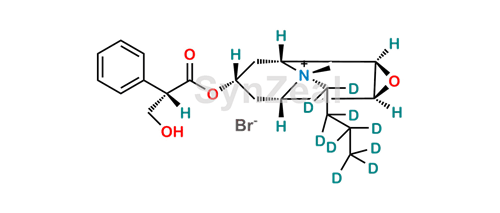 Picture of Hyoscine Butylbromide-d9