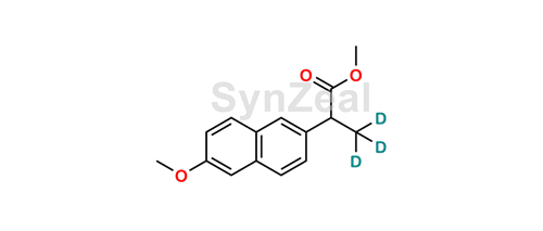 Picture of rac Naproxen-d3 Methyl Ester