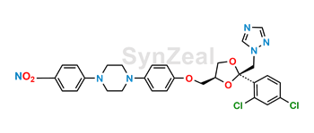 Picture of Itraconazole Nitrophenyl Impurity