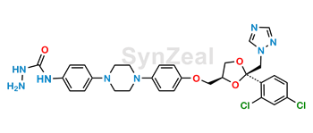 Picture of Itraconazole Hydrazinyl Impurity
