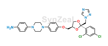Picture of Itraconazole Aniline Impurity