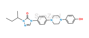 Picture of Itraconazole Hydroxy Isobutyltriazolone Impurity