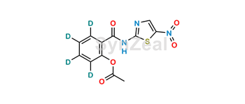 Picture of Nitazoxanide D4