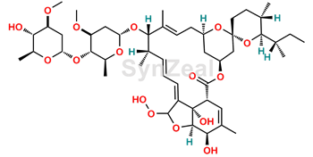 Picture of 8a-hydroperoxide Ivermectin