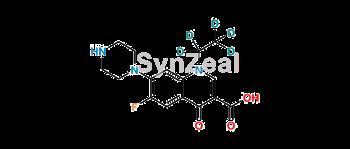 Picture of Norfloxacin-D5 (ethyl-D5)