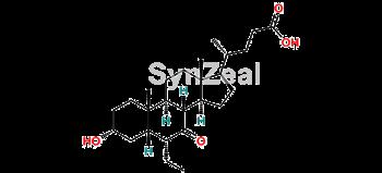 Picture of 3α-hydroxy-7-keto-6α-ethyl-5β-cholanic acid