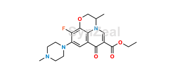 Picture of Ofloxacin EP Impurity D Ethyl Ester