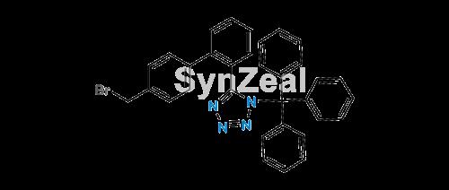 Picture of Olmesartan Impurity (N-(Triphenylmethyl)-5-(4'-bromomethylbiphenyl-2-yl)tetrazole)