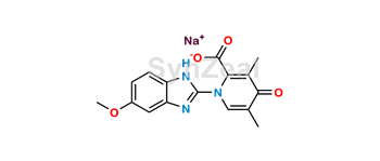 Picture of Omeprazole Pyridone Acid Sodium Salt