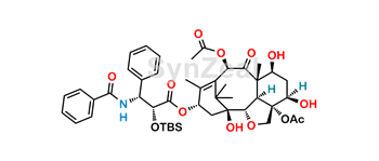 Picture of 2'-O-tert-Butyl(dimethyl)silyl-2-debenzoyl-[2,4]-oxol Paclitaxel