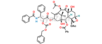 Picture of 2'-O-(Benzyloxycarbonyl) Taxol