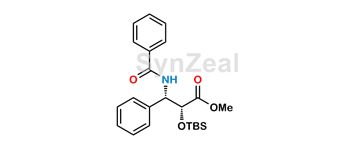 Picture of 2-O-tert-Butyl(dimethyl)silyl-(2R,3S)-benzoyl-3-phenylisoserine Methyl Ester