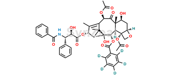 Picture of Paclitaxel-d5 (Benzoyloxy)