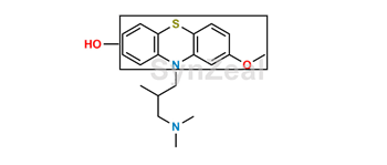 Picture of Ring-hydroxy Levomepromazine