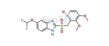 Picture of Pantoprazole Sulfone N-Oxide