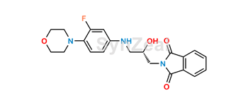 Picture of Linezolid Desacetamide Descarbonyl Phthalimide (S)-Isomer