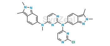 Picture of Pazopanib Related Compound 3
