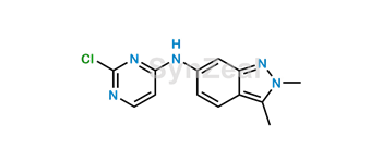 Picture of Pazopanib Pyrimidine impurity