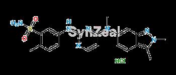 Picture of Pazopanib Hydrochloride