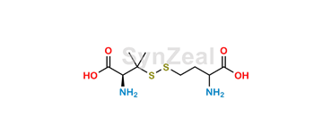 Picture of Homocysteine-penicillamine disulfide
