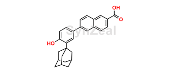 Picture of O-Desmethyl Adapalene