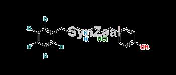 Picture of 4-Hydroxy Alverine-d5 Hydrochloride