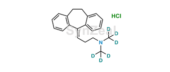 Picture of Amitriptyline D6 Hydrochloride