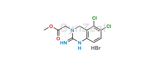 Picture of Anagrelide open ring methyl ester Hydro Bromide