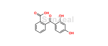 Picture of Aspirin Impurity (2-(2,4-Dihydroxybenzoyl)Benzoic Acid)