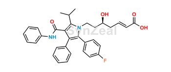 Picture of Atorvastatin 3-Deoxy-Hept-2-Enoic Acid (USP)