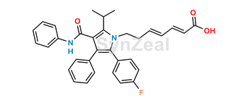 Picture of Atorvastatin 2,3,4,5-Dianhydro Acid