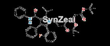 Picture of Atorvastatin 2-Fluoro t-Butyl Ester