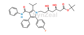 Picture of Atorvastatin Acid t-Butyl Ester