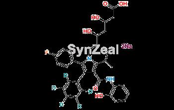 Picture of 2-hydroxy Atorvastatin D5 disodium salt