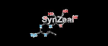 Picture of 6-methyl-5-azacytosine pentose