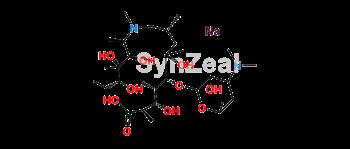 Picture of 3-Hydroxy Azithromycinoic Acid Sodium Salt