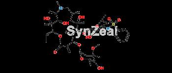Picture of 3'-N-Demethyl-3'-N- (phenylsulfonyl) azithromycin