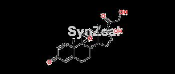 Picture of 16-demethyl epoxide Beclometasone