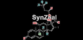 Picture of Beclomethasone 21-propionate D3