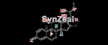 Picture of 21-Hemiacetal Betamethasone