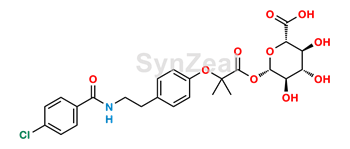 Picture of Bezafibrate Acyl Glucuronide